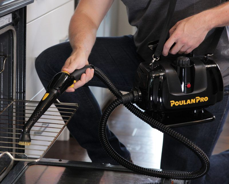Poulan Pro PP270 Portable Power Steam Cleaner Lifestyle Oven